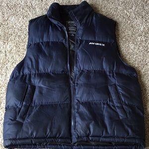 Avirex vest men's XL authentic brand puffer vest.